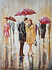 Holly Hanson - YOUNG LOVE - Oil on Board - 16 x 12, Holly Hanson, Click for value