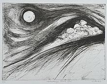 Doris Rohr - WEATHER DRAWINGS, MOONRISE - Limited