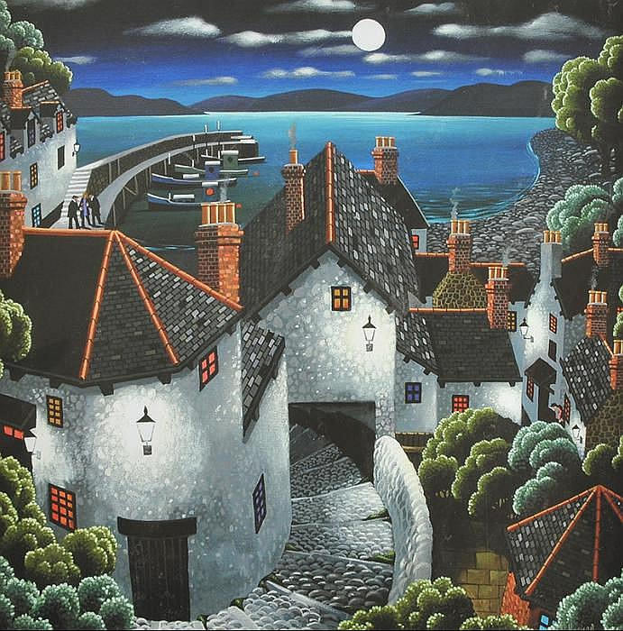 George Callaghan - THE WINDING STEPS - Coloured