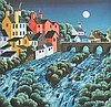 George Callaghan - THE FAST RIVER - Coloured Print, George  Callaghan, Click for value