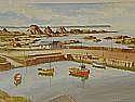 Samuel McLarnon - BALLINTOY HARBOUR, Oil on