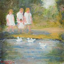 Stanley Vennard (20th Century) - CHILDREN IN THE
