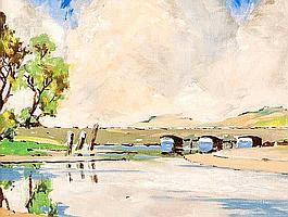 James Stanley Prosser, RUA (1887-1959) - RIVER &