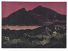 Chris Reid - EAGLE'S NEST, KILLARNEY - Limited Edition Coloured Lithograph