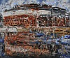 John Stewart - THE WATER FRONT - Oil on Canvas -, John Stewart, Click for value