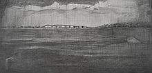 Doris Rohr - LANDSCAPE - Pencil on Paper - 9 x 17