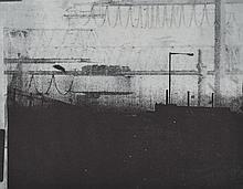 Doris Rohr - EVENING SKYLINE - Black & White