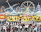 John Ormsby - ALL THE FUN OF THE FAIR - Oil on, John Ormsby, Click for value