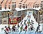 John Ormsby - FUN IN THE SNOW - Oil on Board - 16, John Ormsby, Click for value