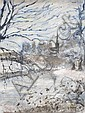 Stanley Vennard (20th Century) - SNOW ON THE