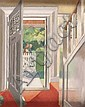 Olive Henry, RUA (1902-1989) - DOOR-WAY, Oil on, Olive Henry, Click for value