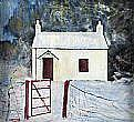 Stanley Vennard - THE LOCK KEEPERS COTTAGE, Oil on