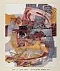 George Campbell, RHA RUA - CLARE, Screen Print on