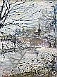 Stanley Vennard - SNOW ON THE LAGAN, DRUMBEG, Oil