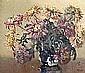 Anne Primrose Jury, HRUA - CHRYSANTHEMUMS, Oil on, Anne Primrose Jury, Click for value