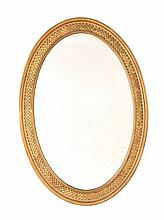 REGENCY GILT WALL MIRROR