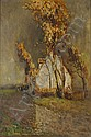 FERNAND MAILLAUD HUILE SUR TOILE EFFET D'ORAGE, Fernand Maillaud, Click for value