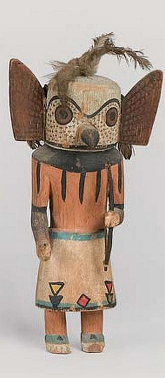 Kachina Doll, North America, Native America Tribal Art Zuni