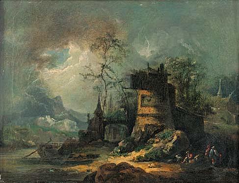 JUILLIARD, NICOLAS - JACQUES. ( 1715 - 1790 ) ATTRIBUÉ À.