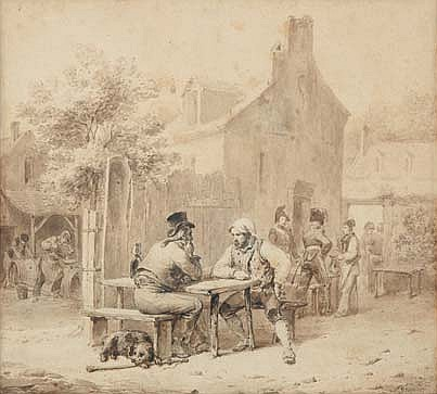 GRENIER, FRANÇOIS 1793 - 1867 (ATTRIBUÉ À )