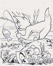 GEN CLO - Tom & Jerry - Couverture du Tom & Jerry n°36 de mai 1979...