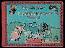 RABIER - Les animaux en liberté - Album à l'italienne en très...
