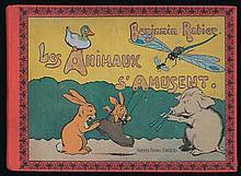 RABIER - Les animaux s'amusent - Album à l'italienne en très...