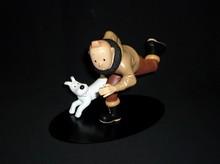 HERGE (Hergé) - Tintin Aviateur - Statuette en résine de Tintin en avion...