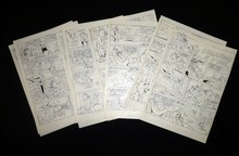 GEN CLO - Tom & Jerry - 8 planches du récit ...