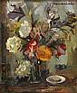 Boris PASTOUKHOFF Huile sur toile Bouquet, Boris Ivanovič Pastuchov, Click for value