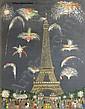 André DEMONCHY Huile sur toile Le 14, André Demonchy, Click for value