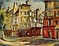 BORIS PASTOUKHOFF HUILE SUR TOILE L'HOTEL DE, Boris Ivanovič Pastuchov, Click for value