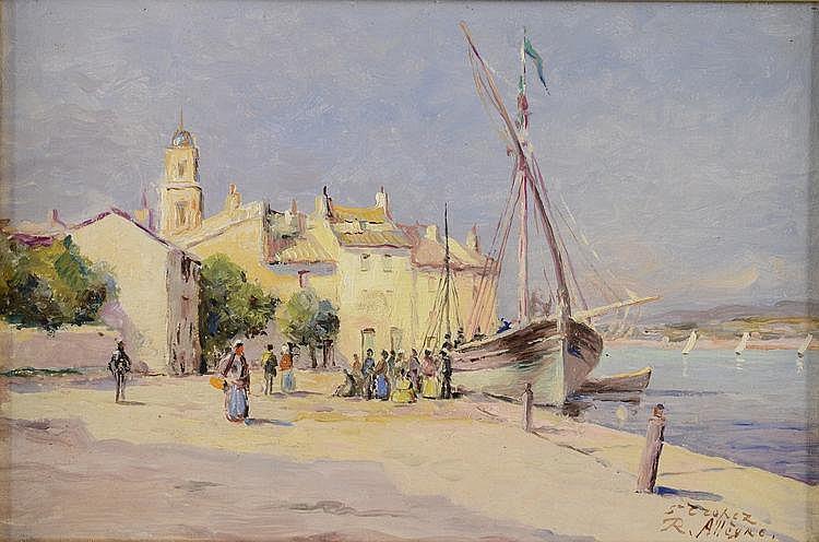 ALLÈGRE RAYMOND, 1857-1933