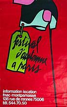 ADAMI Valerio 1935-   Affiche