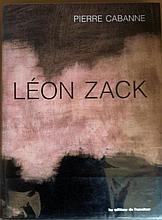 ZACK Léon 1892-1980   Catalogue de l'aeuvre peint. Pierre CABANNE. Ouvrage établi par Florent Zack, Irène Zack et Alain Pizerra. Editions de l'amateur; achevé d'imprimer 4ème trimestre 1993. 438 pages. Parfait état.