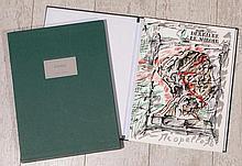 RIOPELLE Jean-Paul 1923-2002   DERRIERE LE MIROIR LUXE. Edition de tête numérotée 38/150 ex. et signée par l'artiste. Illustré de lithographies originales (couverture, pages 3,6 et 10-11-12)