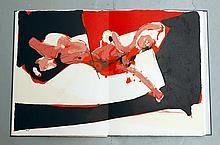 REBEYROLLE Paul 1926-2005   COFFRET Derrière le miroir (DLM)   Edition de tête sur Chiffon de la Dore   Signé par l'artiste et numéroté 26/150   Maeght Editeur, presses d'Arte Adrien Maeght, Paris, mars 1973 - 38,5 x 29 cm