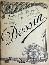 PICASSO Pablo 1881-1973 Le Désir attrapé par la Queue. Paris, circa 1944 Cahier in-4 broché sous couverture illustrée Rare EDITION ORIGINALE de cette pièce de théâtre écrite par Pablo Picasso en 1941, tirée sans lieu ni date, à un nombre inconnu