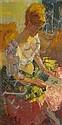 Louis BERTHOMMÉ-SAINT-ANDRÉThe letterOil on canvas, signed bottom left.33 x 19 cm., Louis Berthommé-Saint-André, Click for value