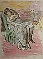 BERTHOMMÉ SAINT-ANDRÉ Louis, 1905 - 1977 - Nonchalance au fauteuil, Louis Berthommé-Saint-André, Click for value