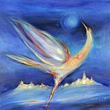 SMET René, né en 1929 - Landscape and bird