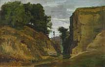 Auguste Paul Charles ANASTASI (1820 - 1889) Rocher