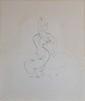 BELLMER Hans, 1902 -1975 Anatomie de l'image, 1967 eau-forte en noir (rousseurs et taches), n° 36 / 100, signée en bas à droite. 47,5 x 41,5 cm.