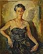Boris Pastoukhoff Portrait of a Lady, Boris Ivanovič Pastuchov, Click for value