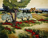 Oil on canvas by Jean TRIOLET