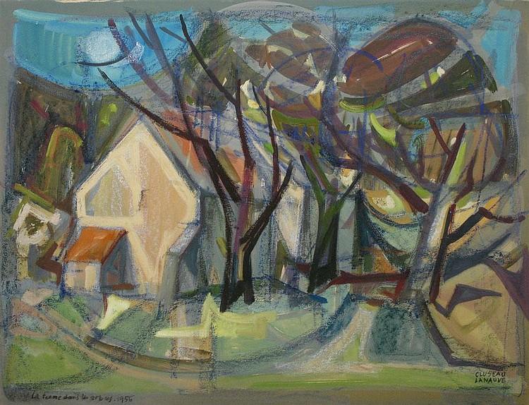 Gouache by Jean CLUSEAU-LANEAUVE