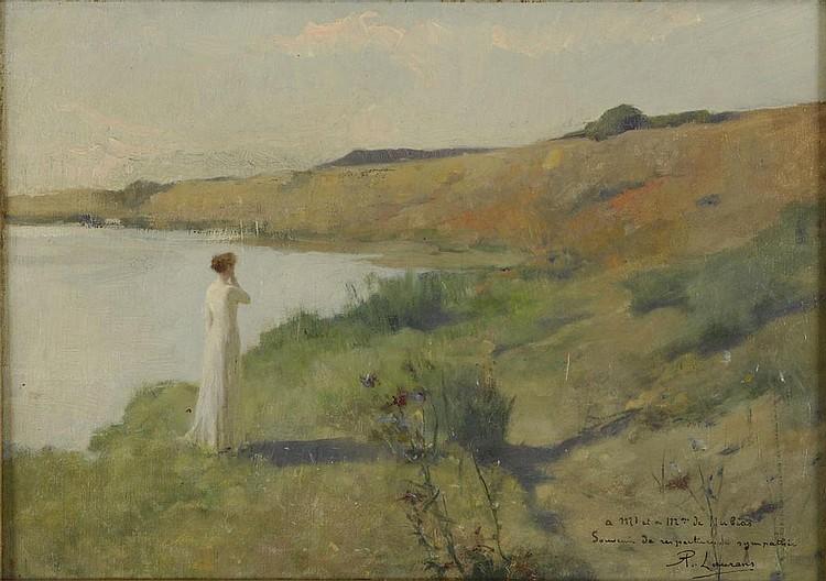 Oil on canvas by Paul-Albert LAURENS