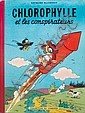 Chlorophylle, by Raymond Macherot (30 March, 1924 - 26 September, 2008), Belgian cartoonist.   Les conspirateurs The conspirators by Macherot.   Original Edition.   General good condition. Tiny tears. Tintin point cut., Raymond Macherot, Click for value