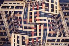 Olivier DASSAULT - Immeubles et échafaudages - photographie en...