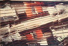 Olivier DASSAULT - Store et voitures - photographie en couleurs sous..